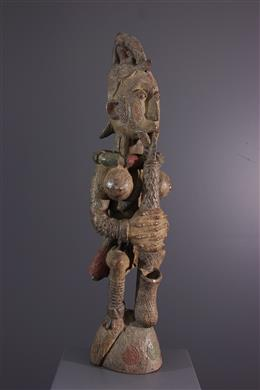 Figure of Igbo sanctuary