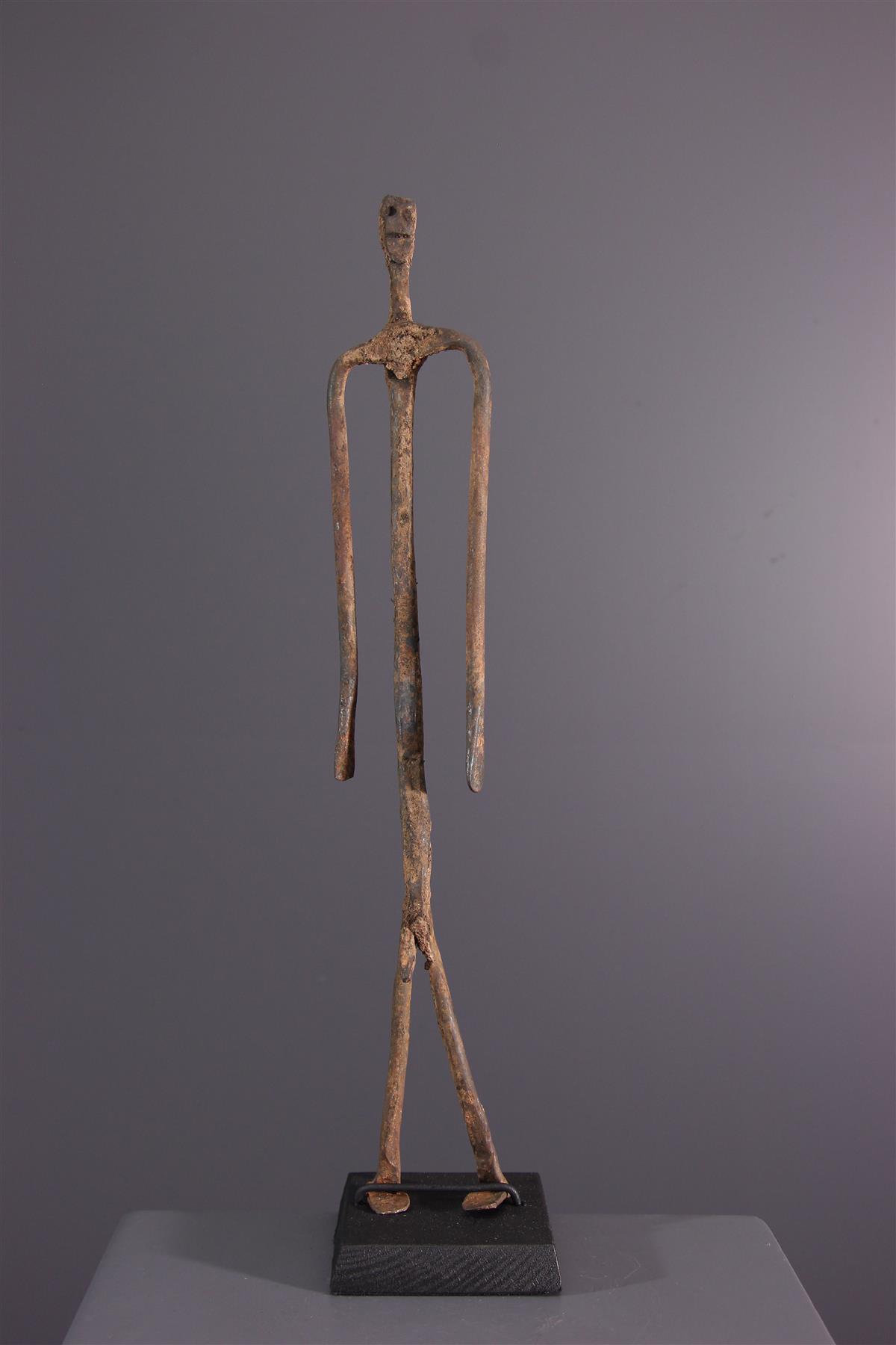 Lobi figure  - African art