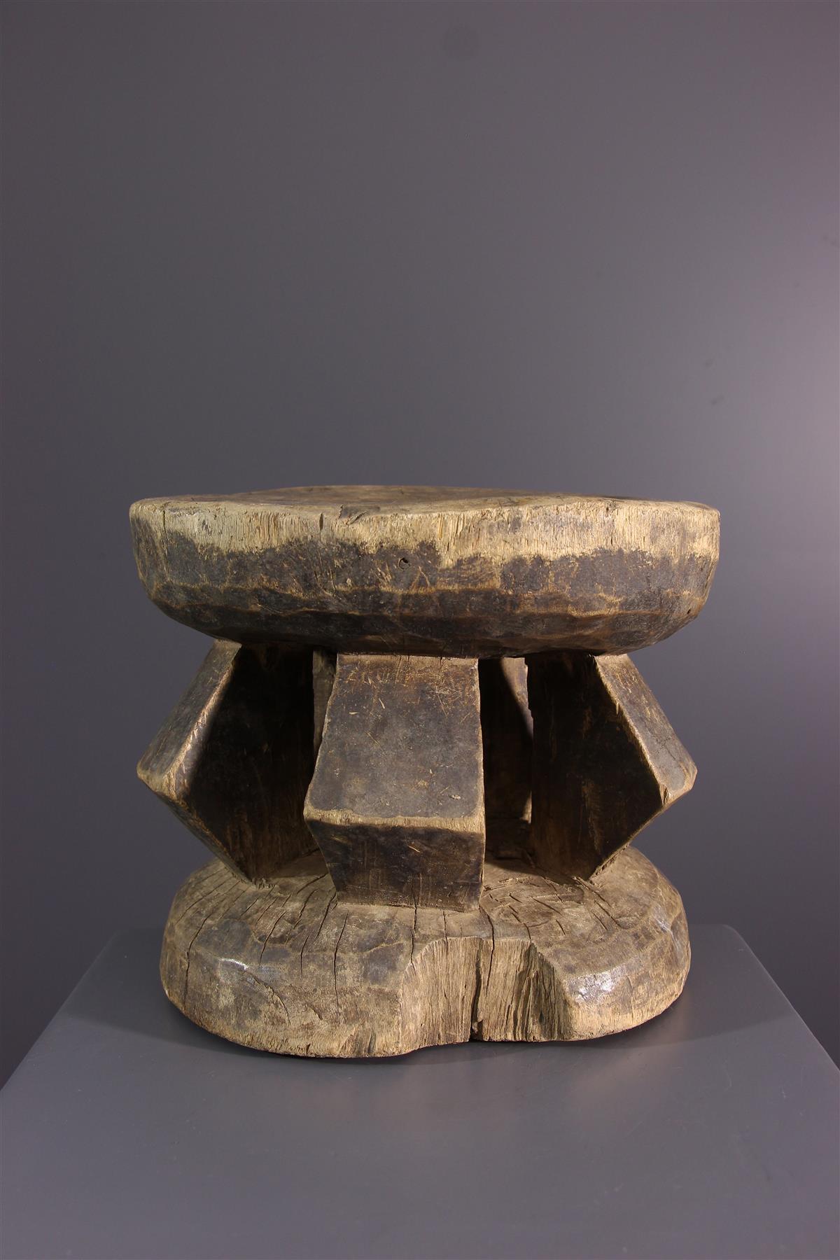 Dogon stool - African art