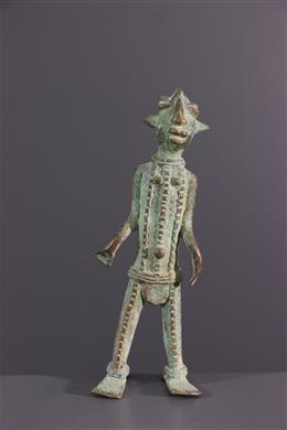 Statuette Vere, Duru, in bronze alloy