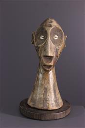 Statues africainesLega bust