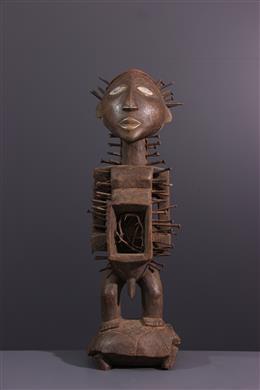 Kongo Nkishi Yombe ritual figure