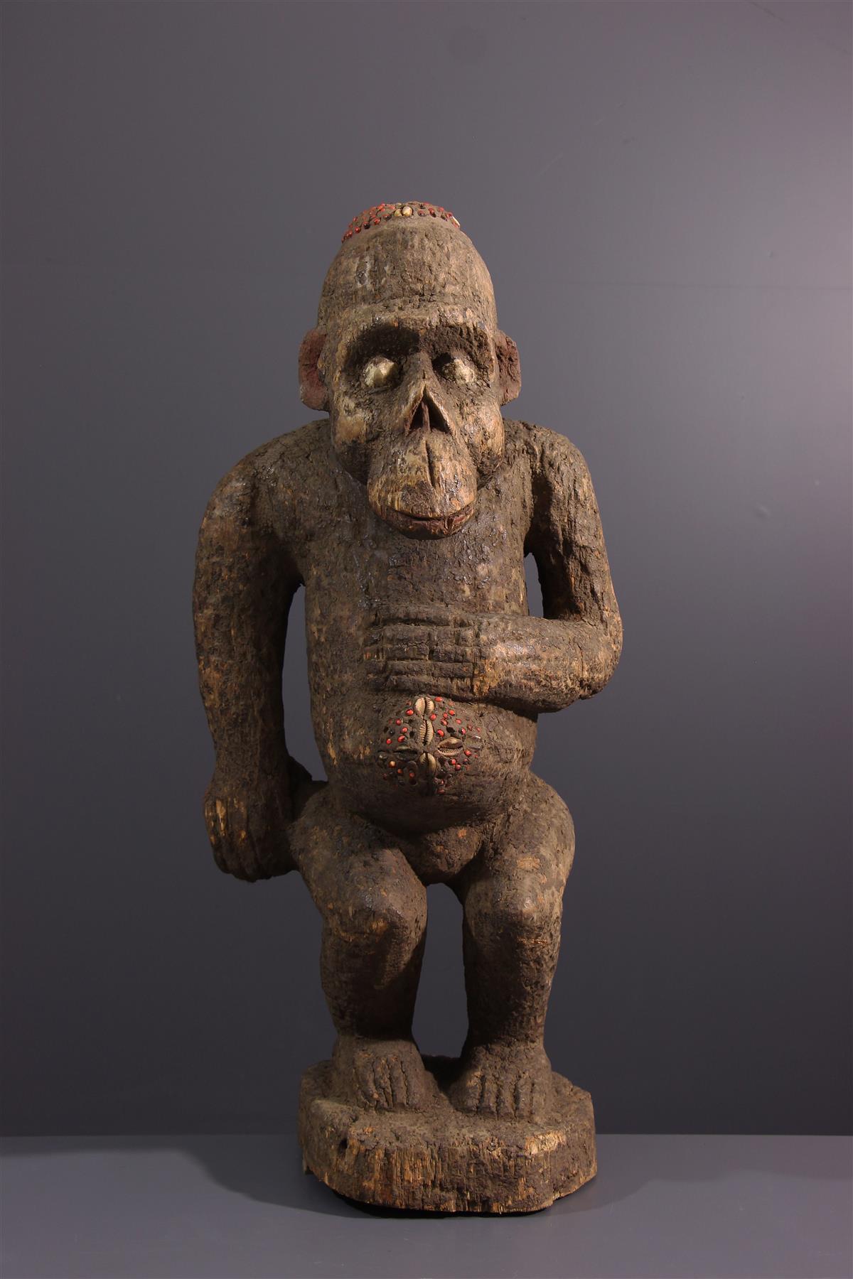 Boulou statue - African art