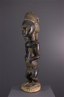 African art - Waka sona Baule statue