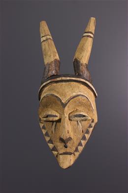 African art - Pende Giphogo mask