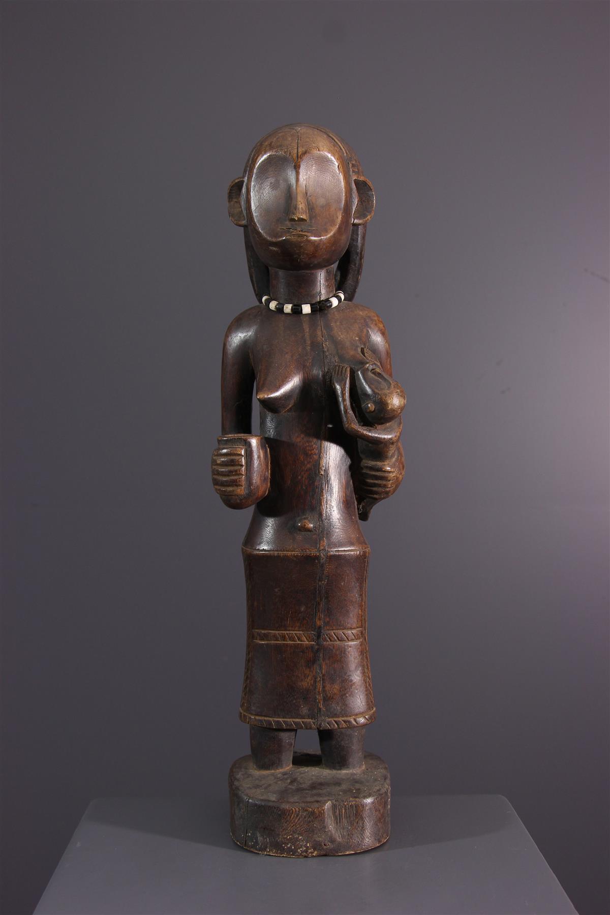 Ovimbundu statue - African art