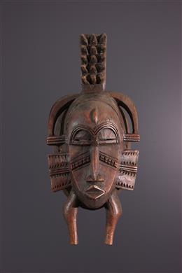 African art - Senoufo Kpélié mask