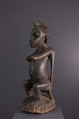 African art - Senoufo female figure Katyelo