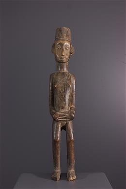 African art - Ewe Togo colonial statue