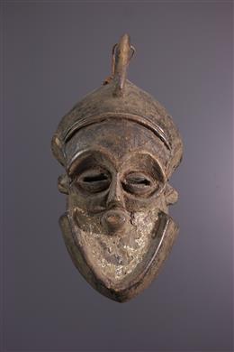 African art - Kete/Bena Lulua mask