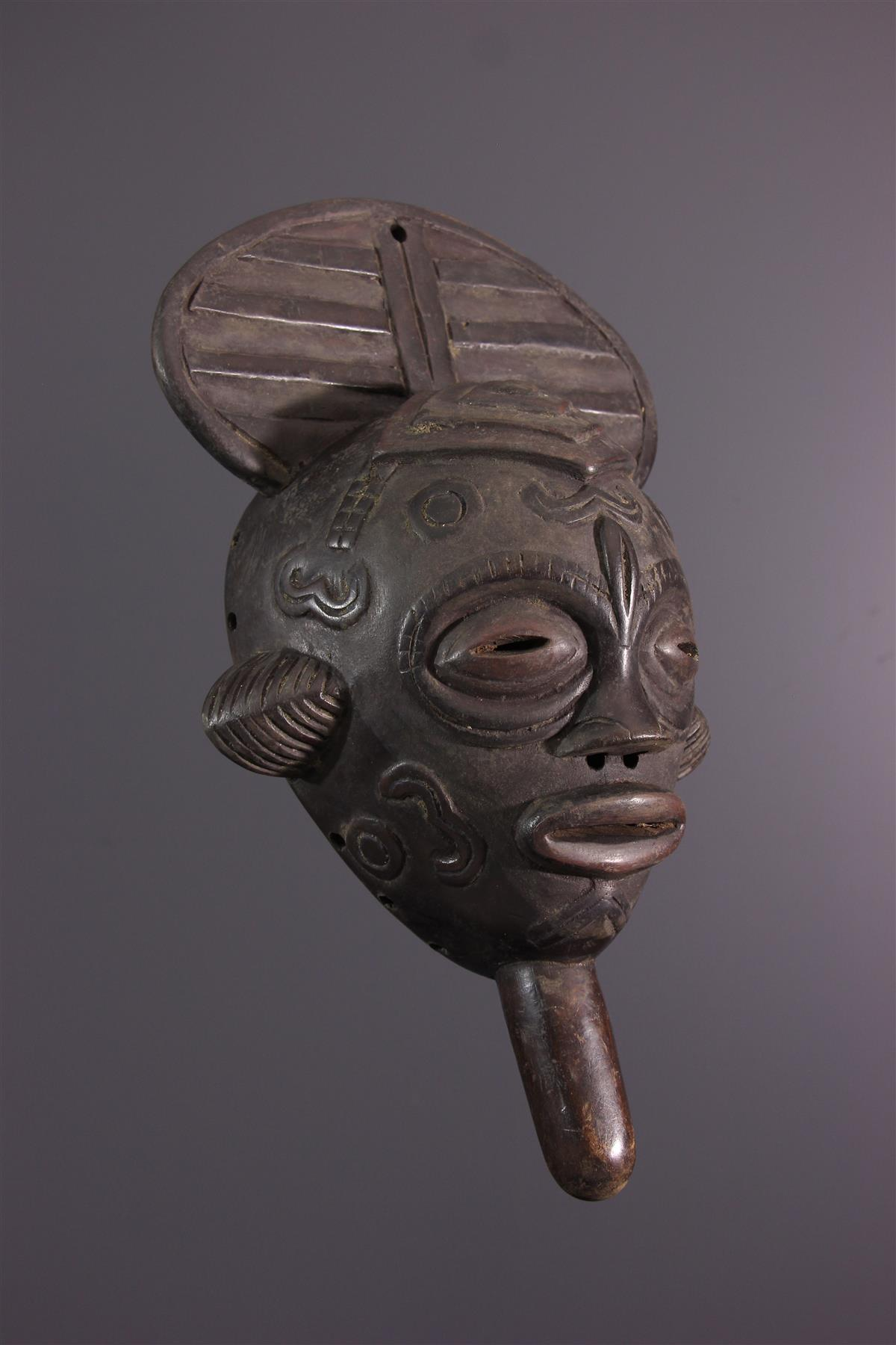 Lulua mask - African art