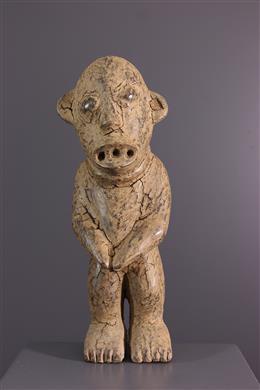 Bamileke N  Ketuok reliquary statue