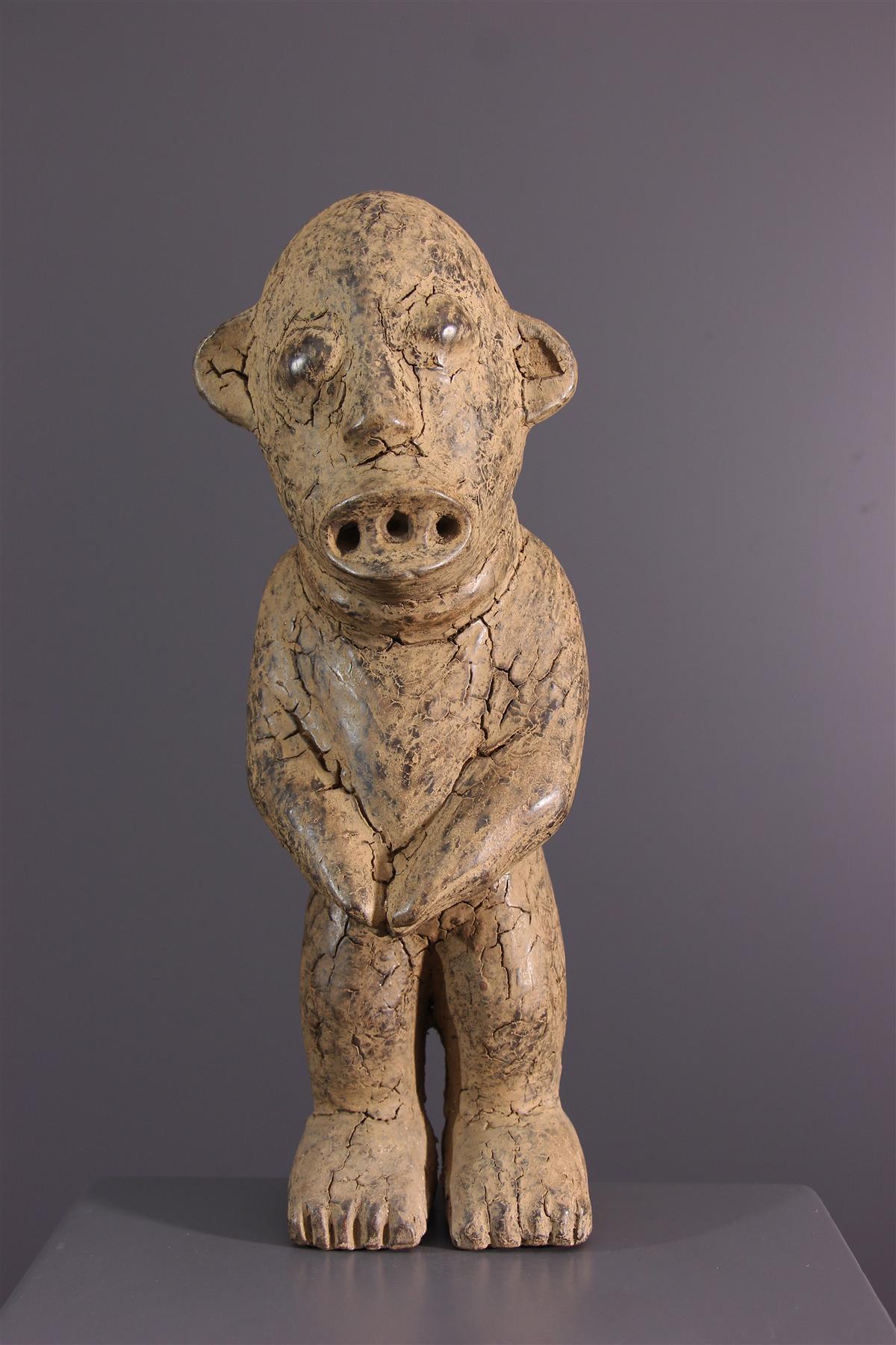 Bamileke statue - African art