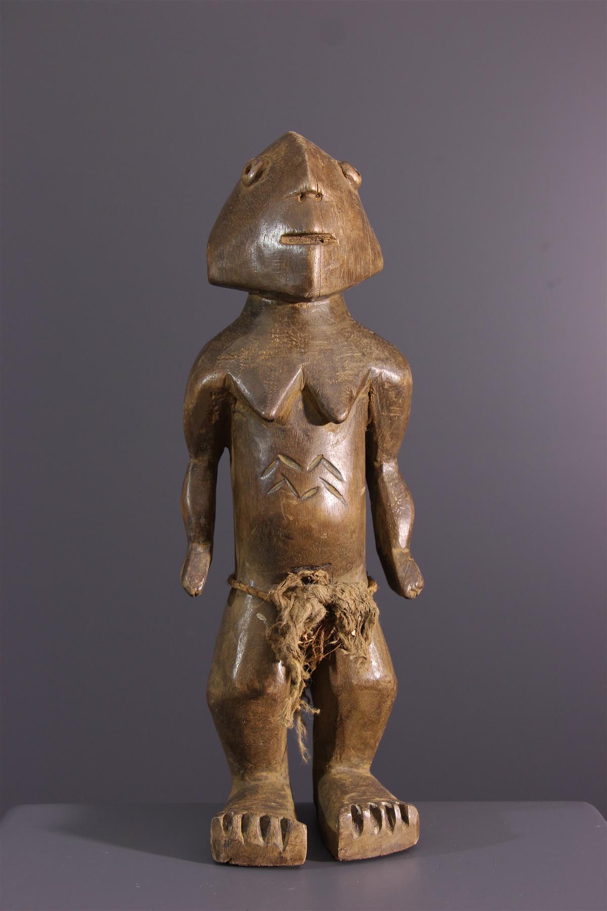 Ngbandi figure - African art