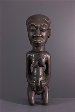 African art - Female Kuba figure