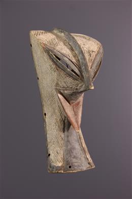 Zoomorphic mask Luba/Zela Mukisi a kukaya