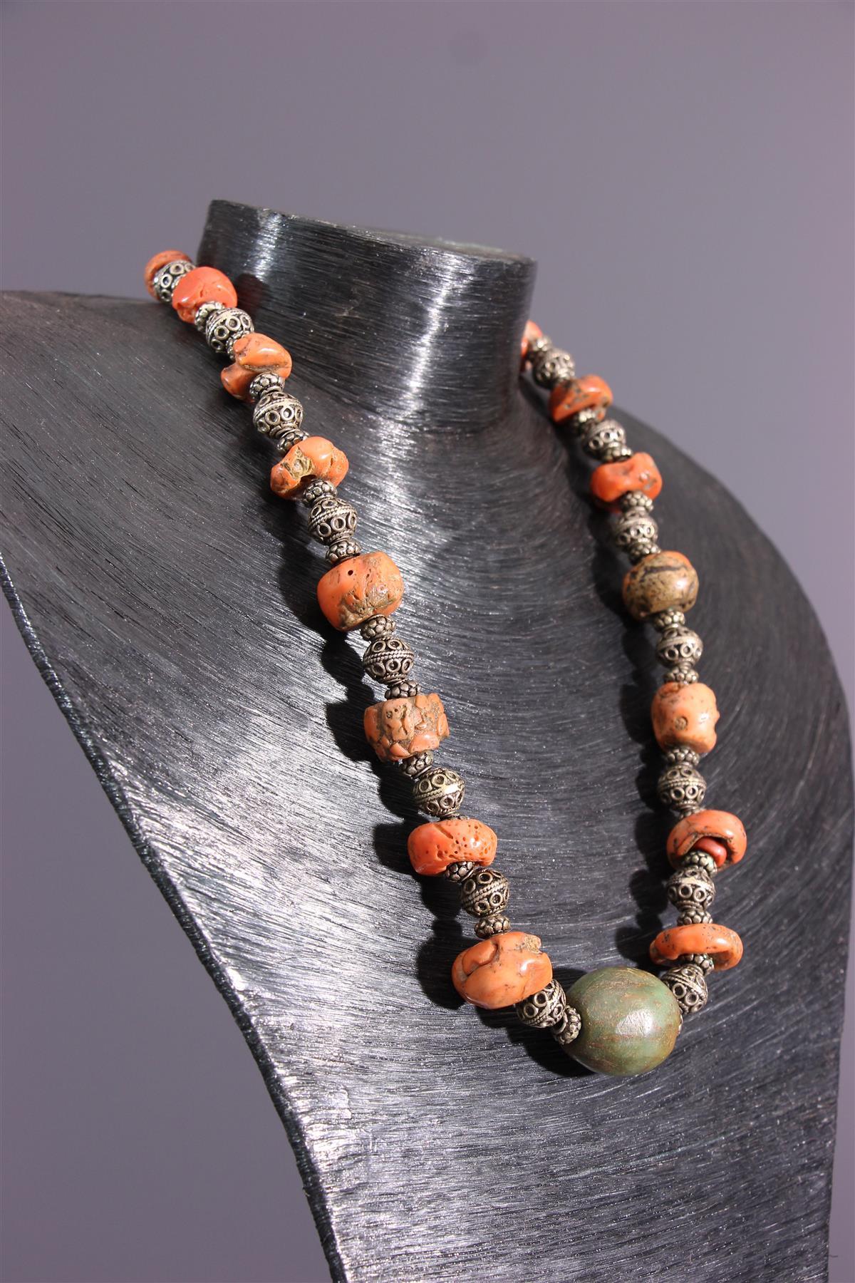 Amazigh necklace - African art