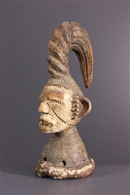 African art - Igbo fetish crest mask