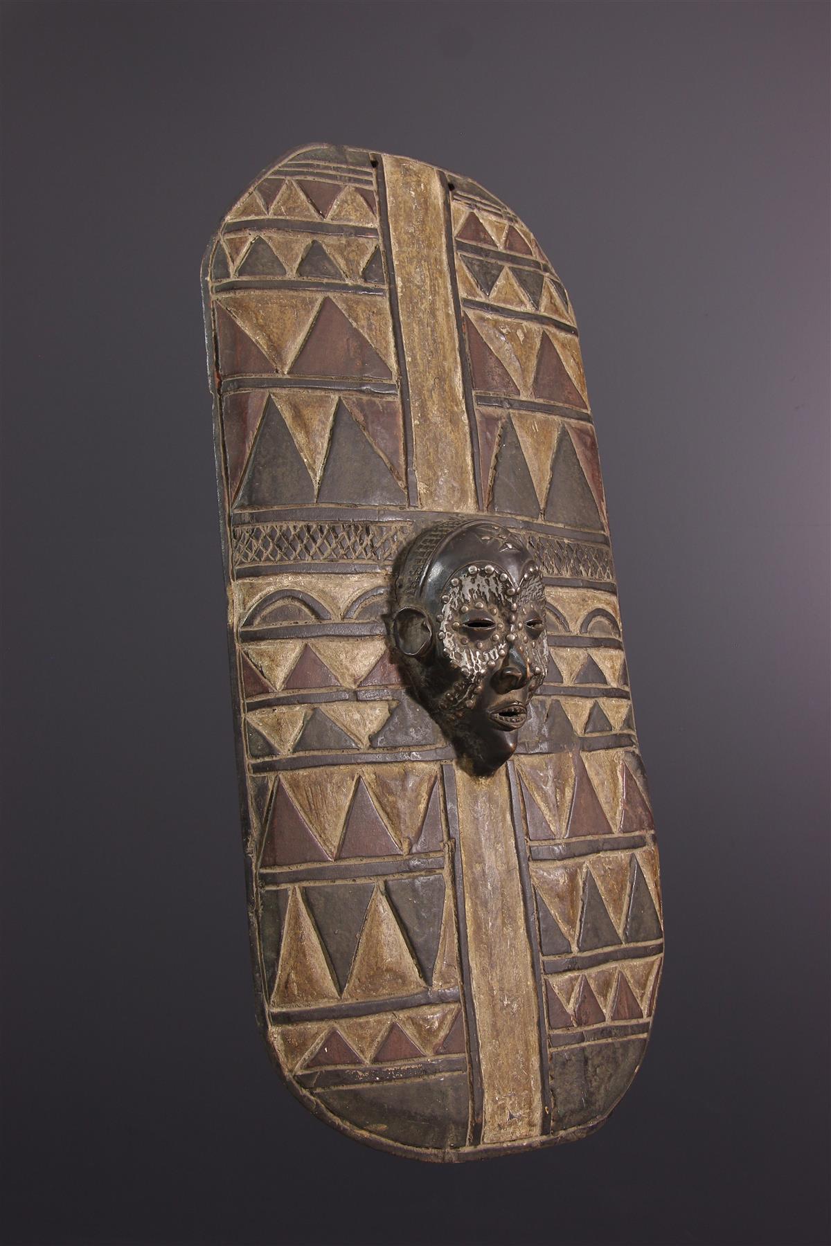 Chokwe shield - African art