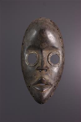 "African art - Dan Gunyeya ""racing"" mask"