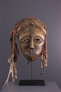 African art - Lunda Makishi mask