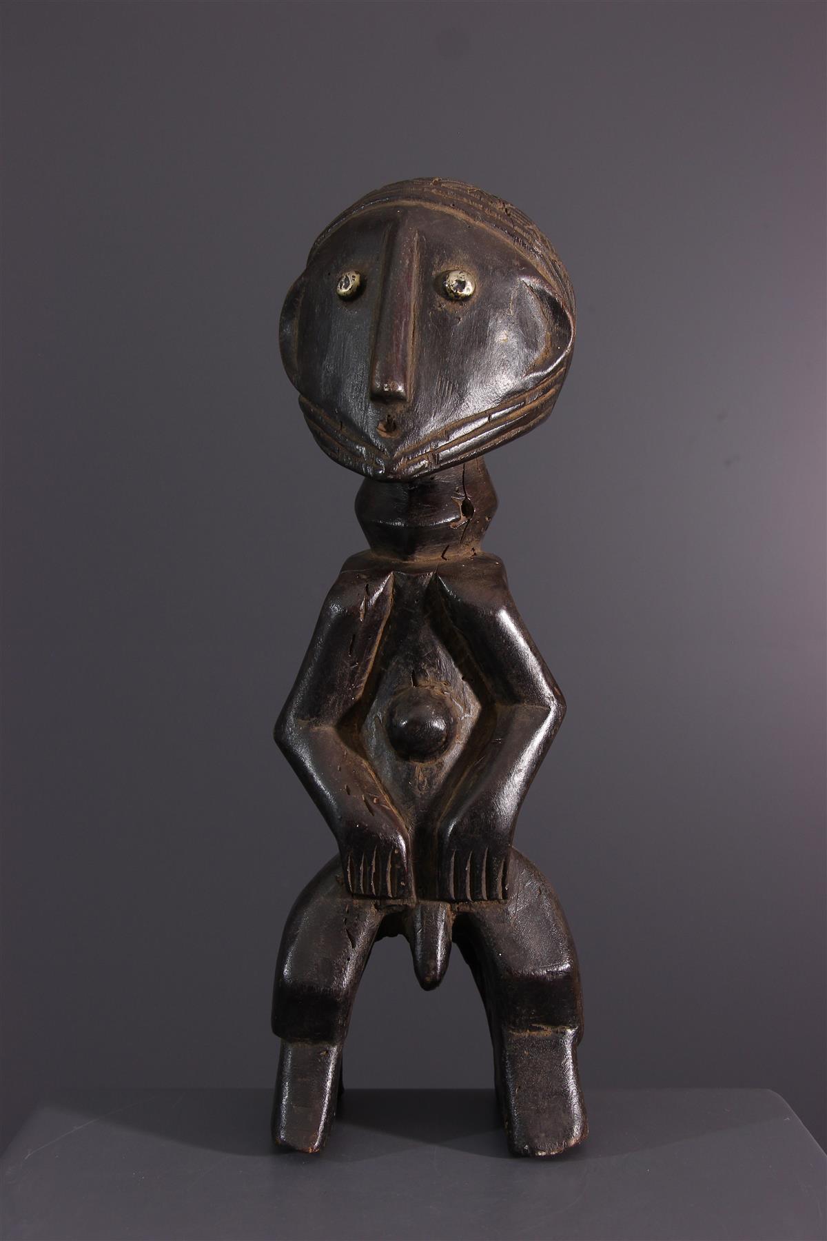 Ngombe statue - African art