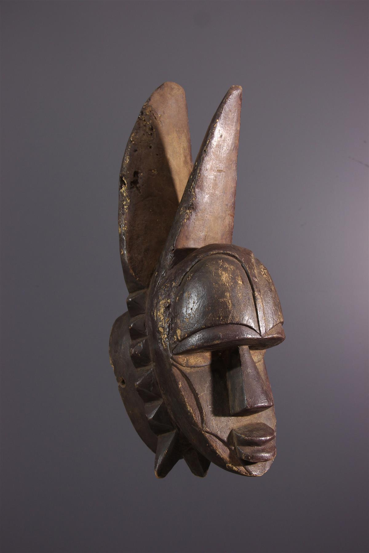 Eket mask - African art