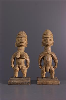 Couple of Ewe Venavi figure
