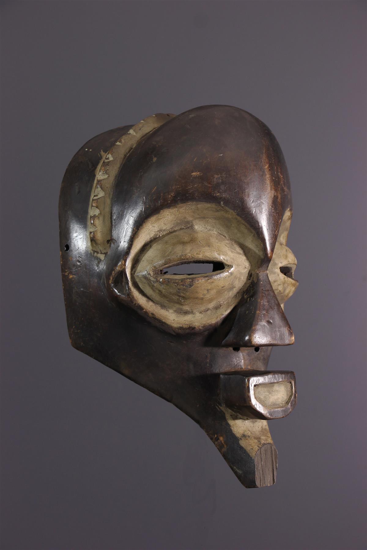 Mbagani mask - African art