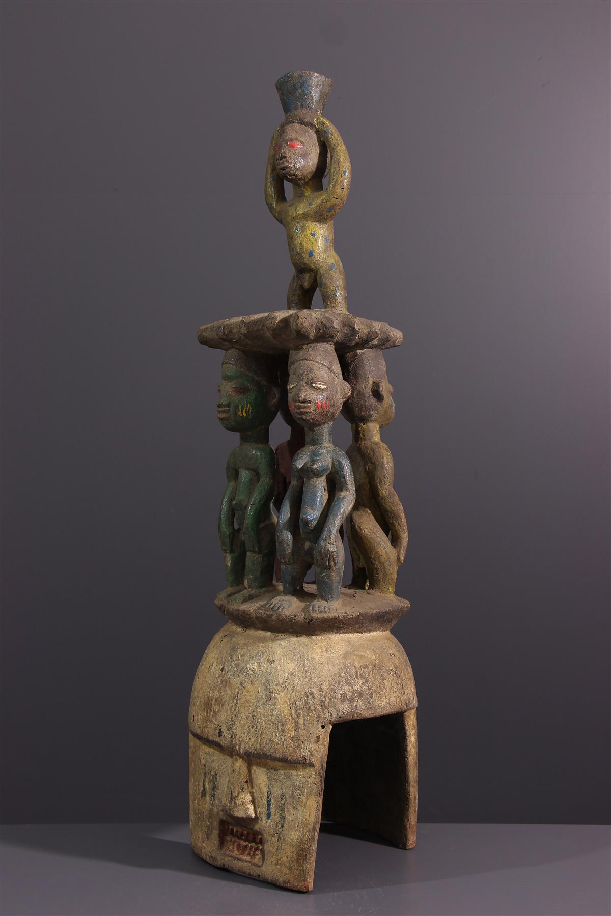 Yoruba Mask - African art