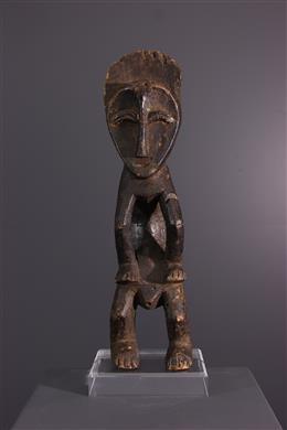 African art - Mbole Ofika statuette of the Lilwa