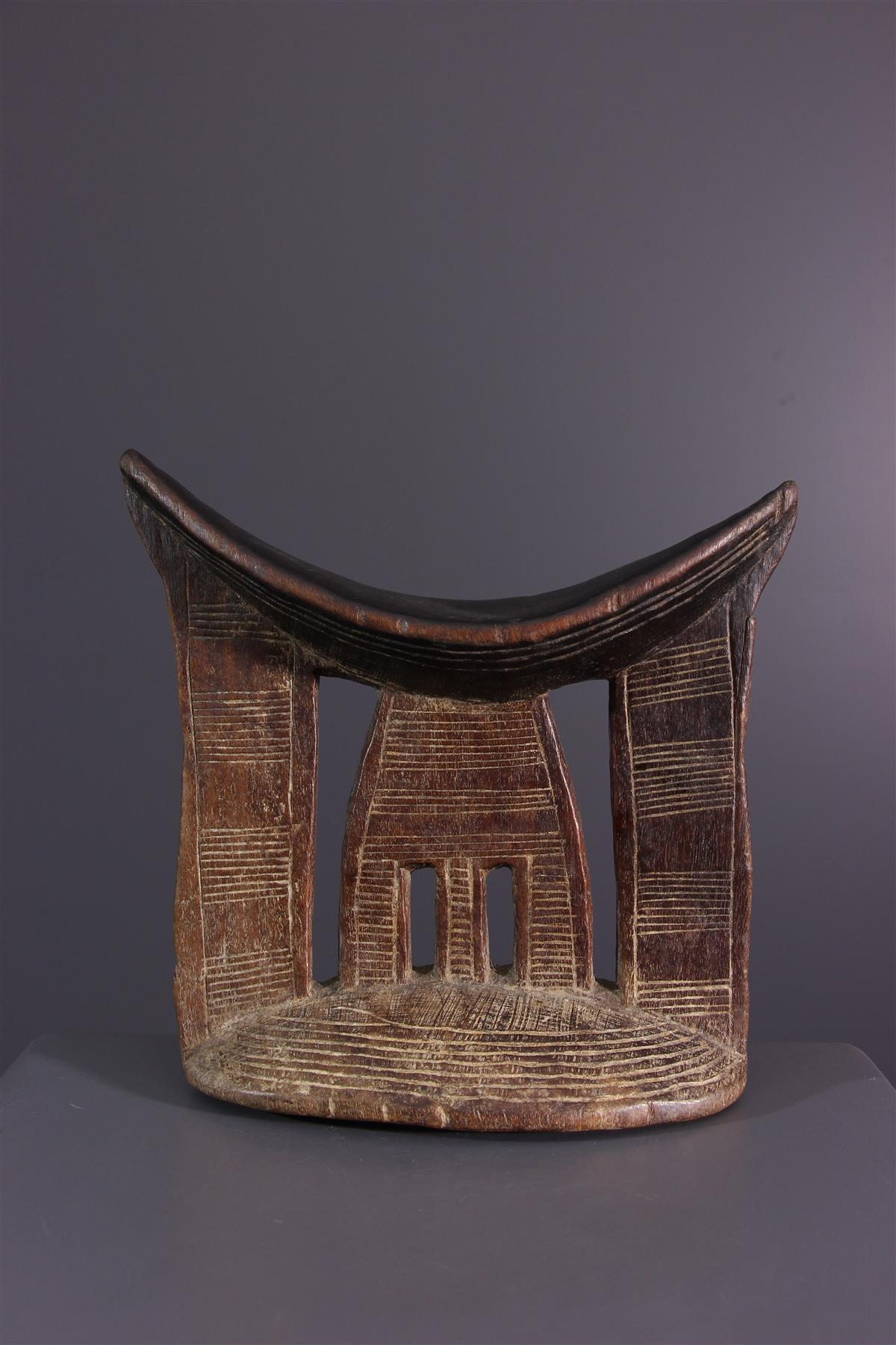 Yagertera neck support  - African art