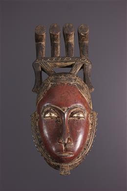 African art - Yohoure Kokole Kwain mask of Dja