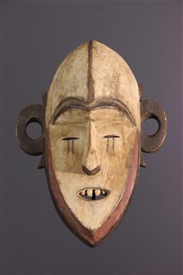 African art - Boa mask Kpongadomba, Pongdudu