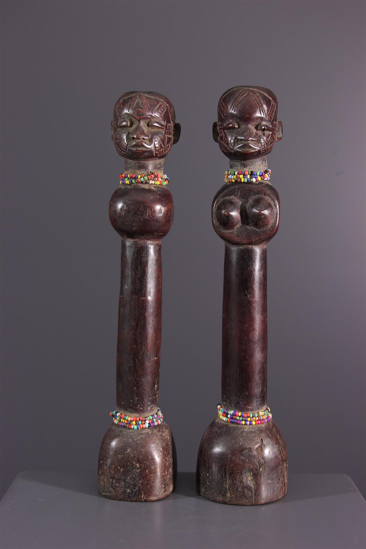 Makonde dolls - African art