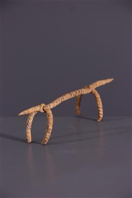 African art - IJzeren Dogon zoömorfe figuur
