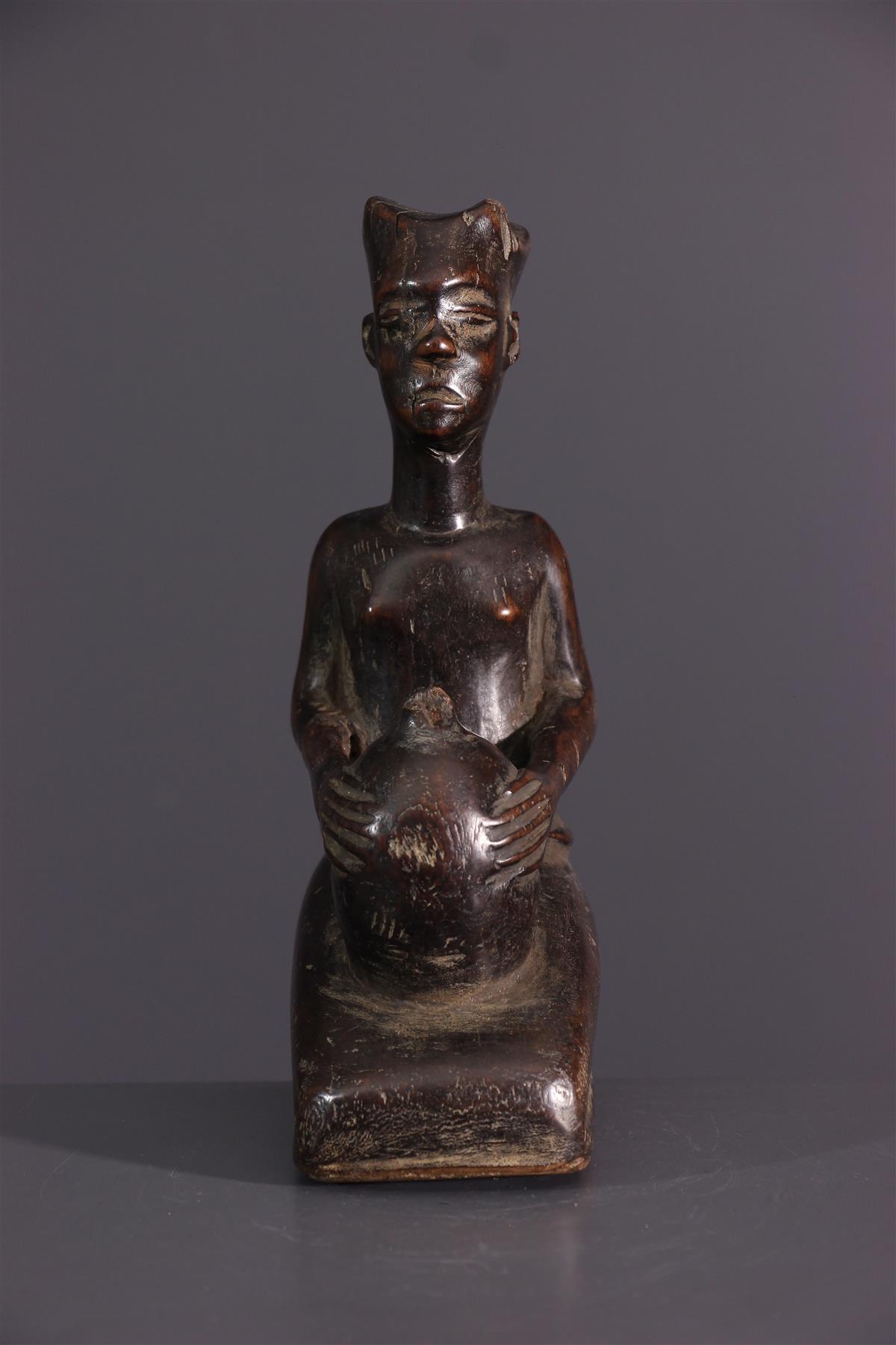 Shoowa statuette - African art
