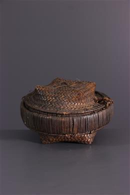 African art - Kuba braided box