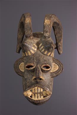 Igbo Mgbedike mask