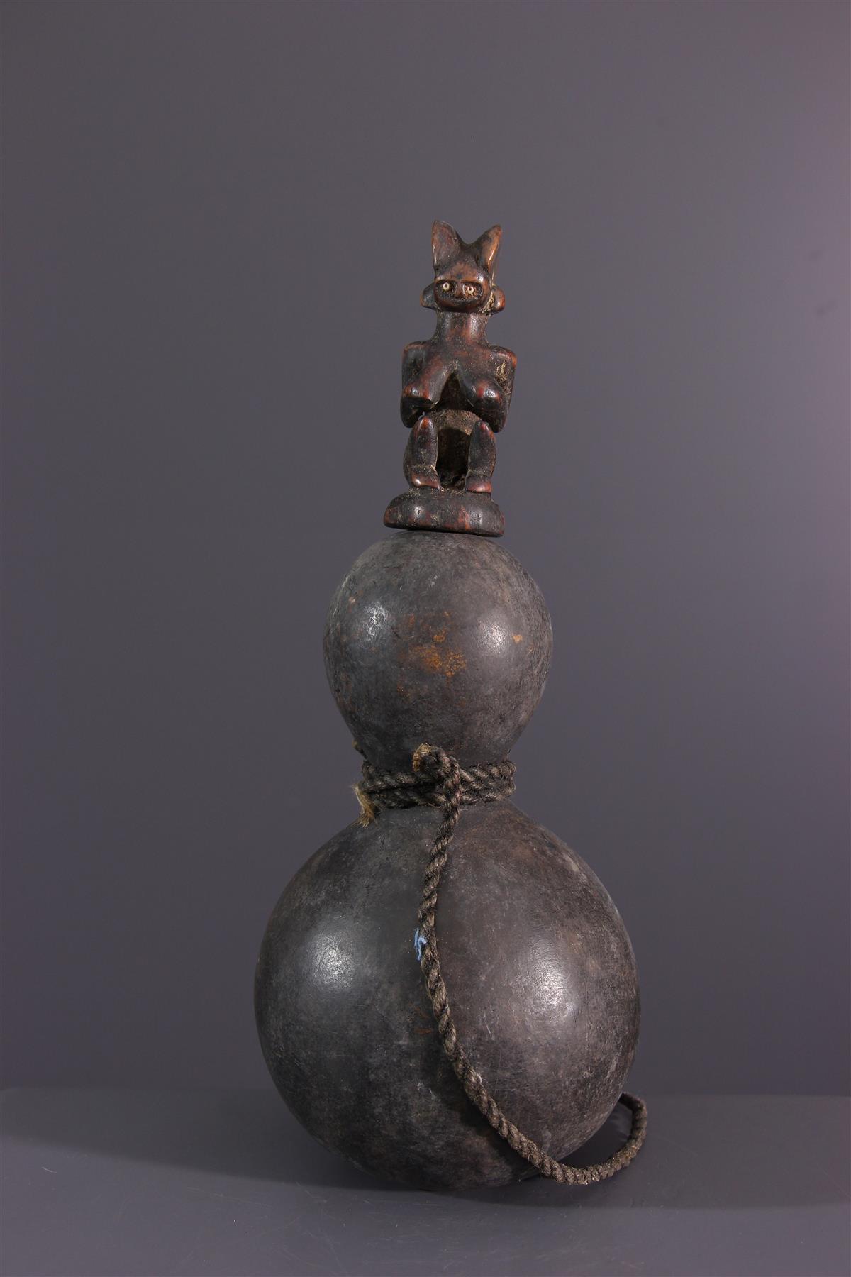 Kwéré calabash  - African art