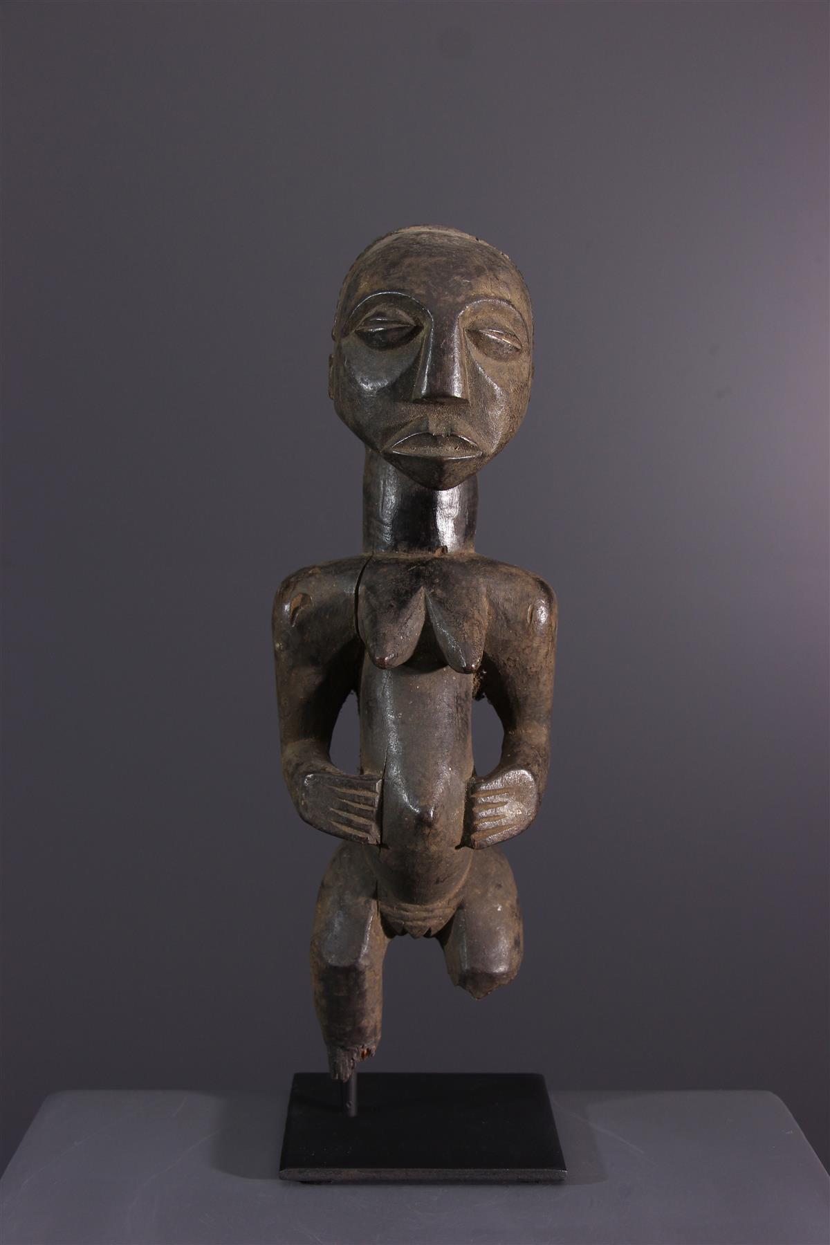 Kusu figure - African art