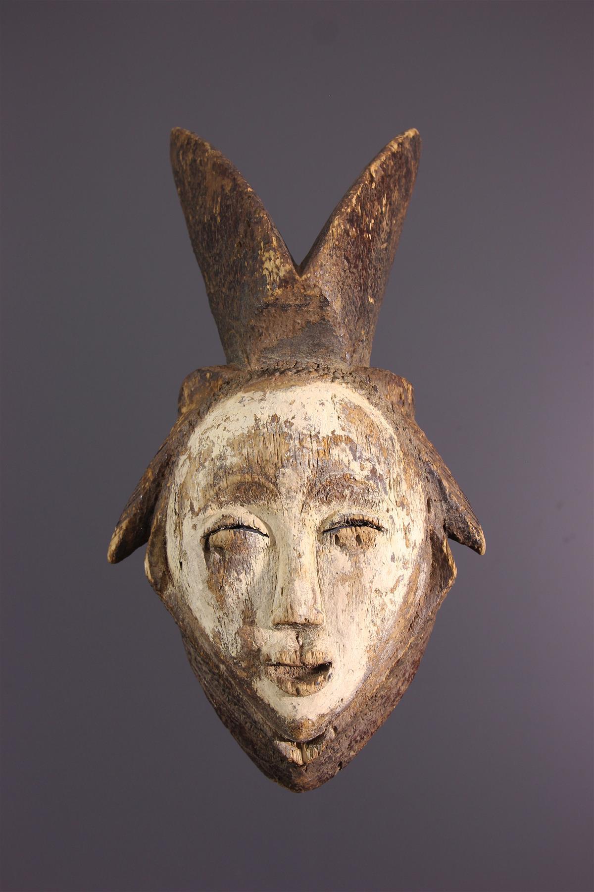 Lumbu mask - African art