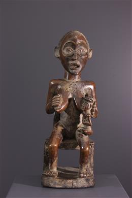 Chokwe, Luvale maternity statue