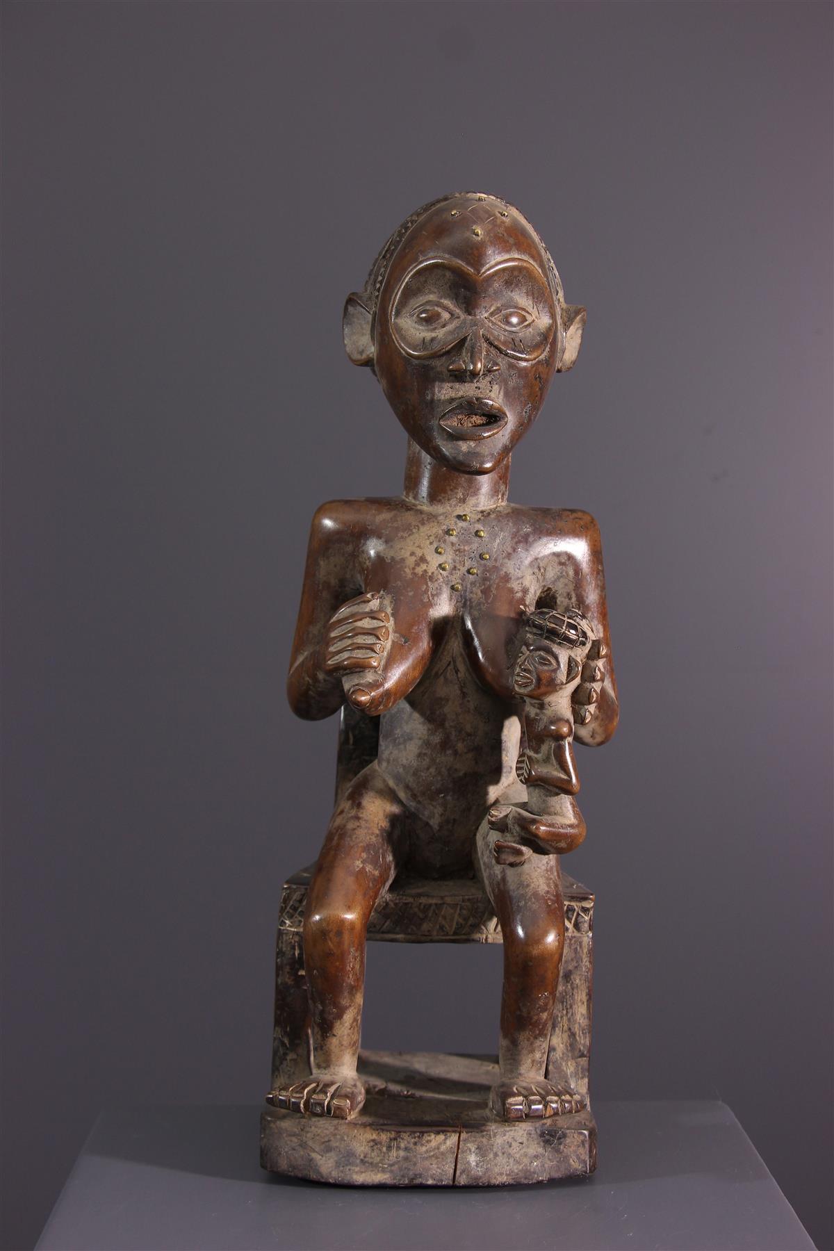 Chokwe statue - African art