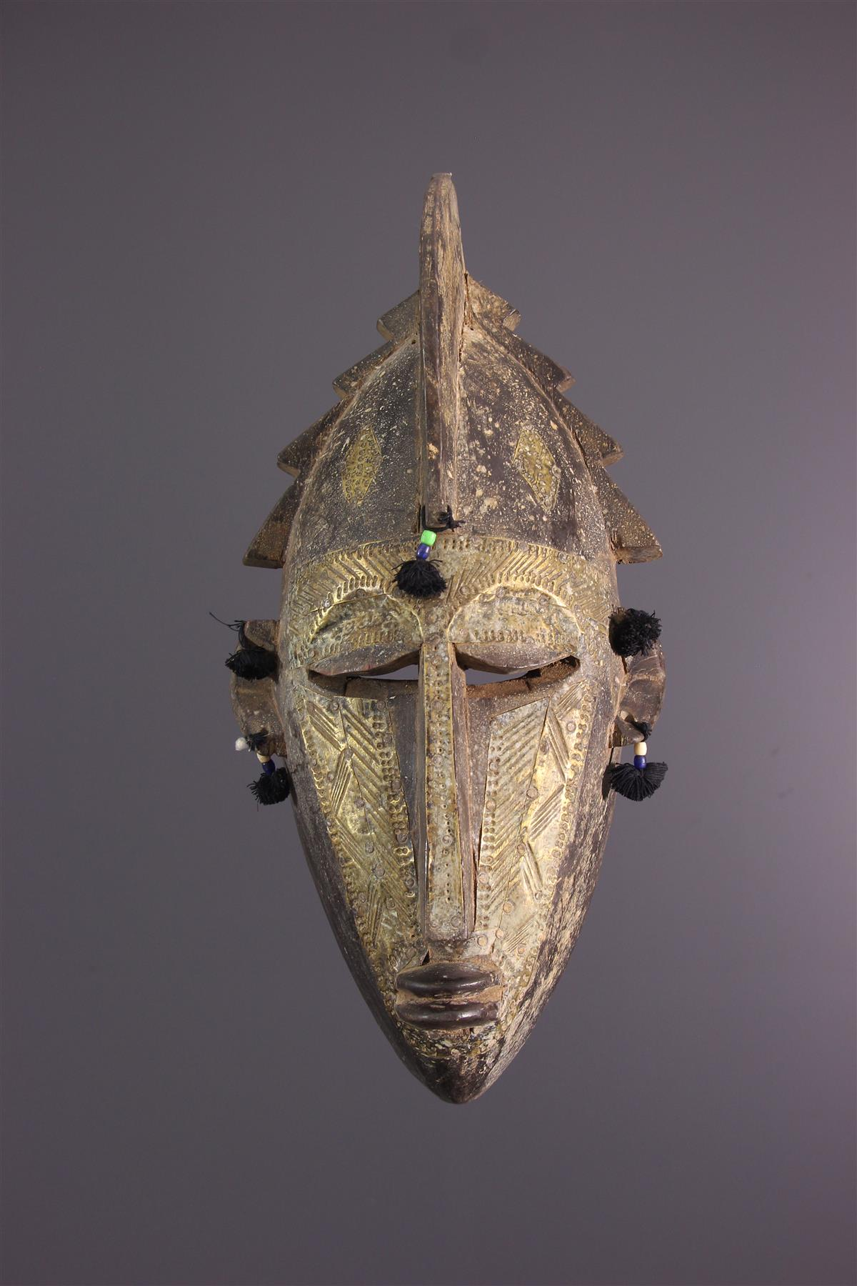 Warka mask - African art