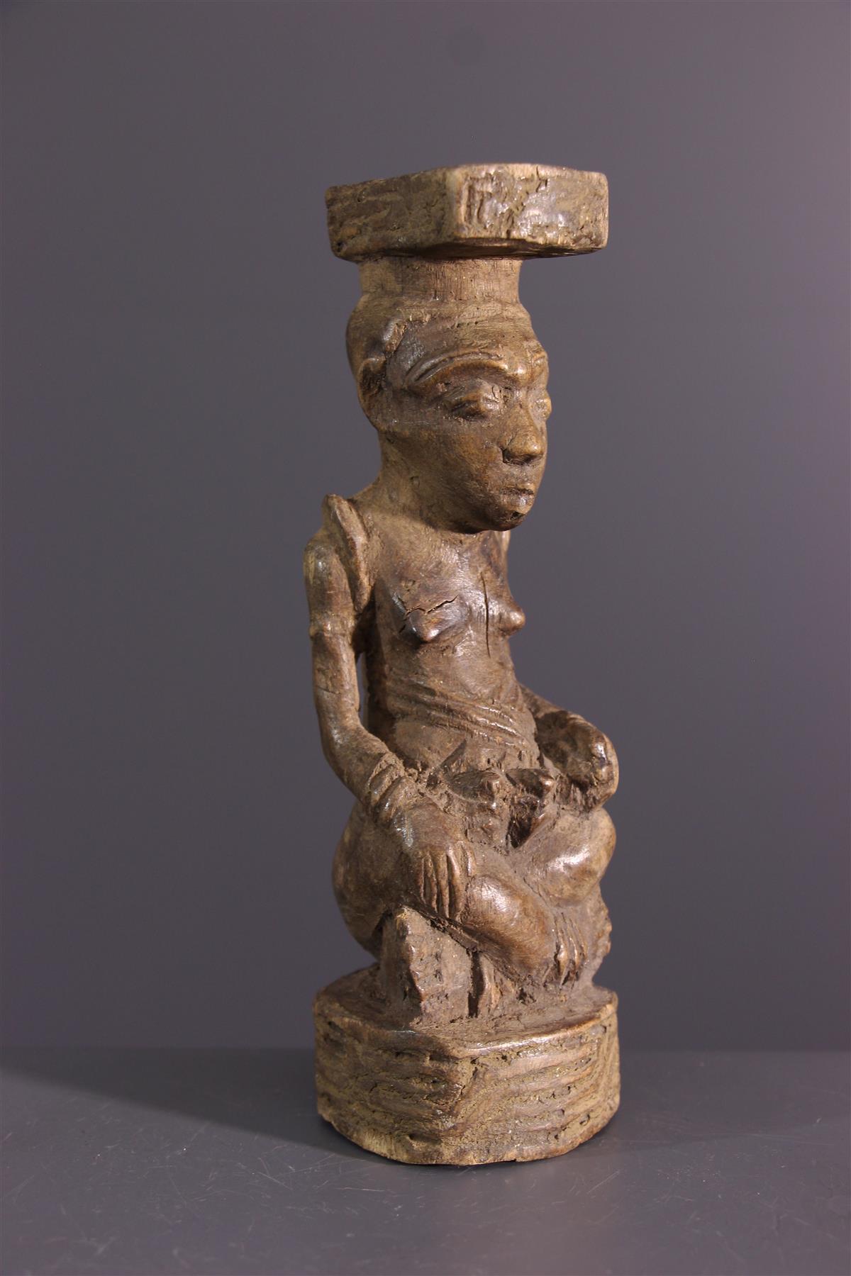 Kuba figure - African art