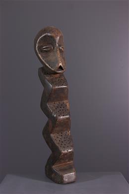 African art - Lega Bwami / Zimba initation figure