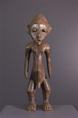 African art - Mangbetu figure