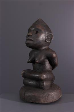 Kongo Yombe female figure