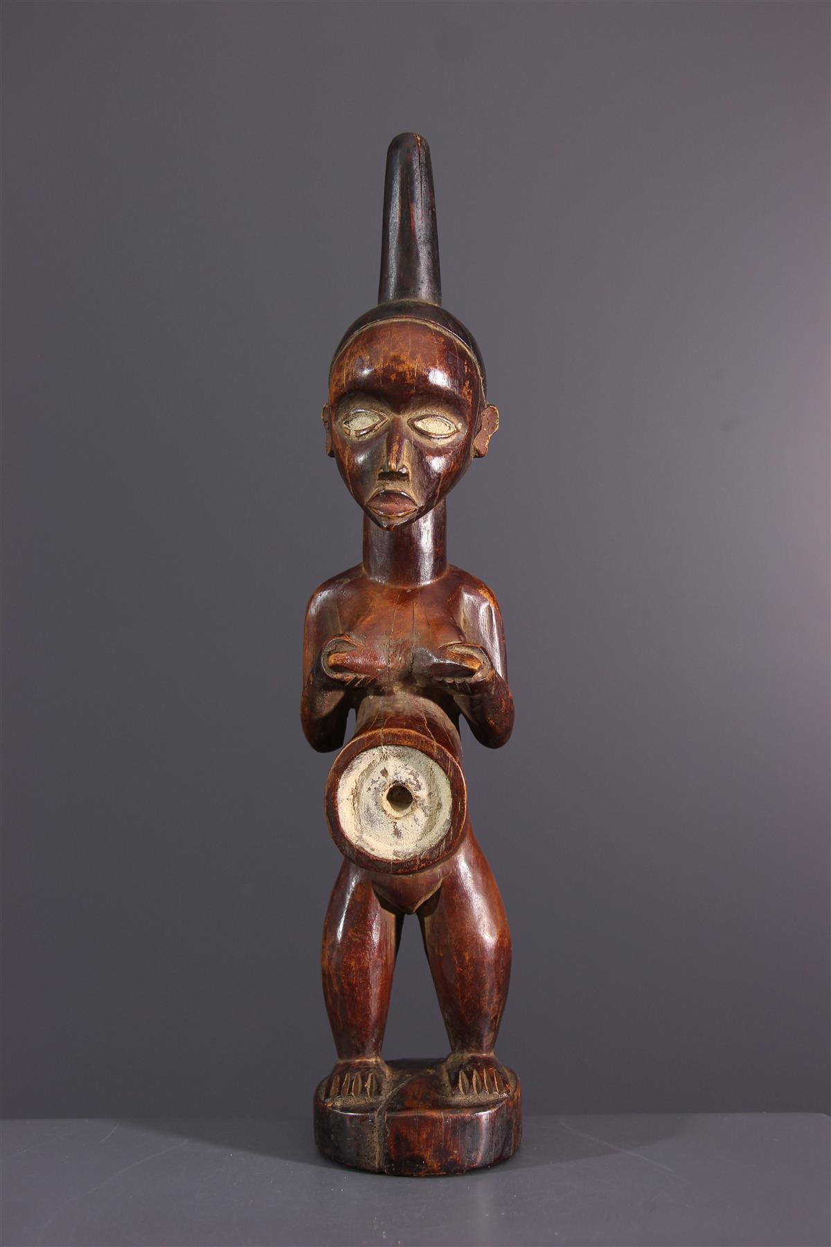 Kakongo fetish  - African art